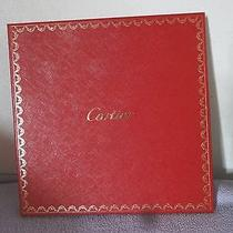 Cartier Scarf Vintage Empty Box Only Original Box  Photo