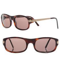 Cartier Sunglasses 130 Tortoise Shell Gold Frame Screw Motif Photo
