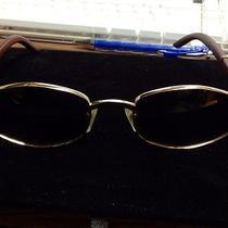 Cartier Sunglasses 145b Gold & Wood  53/21 Photo