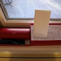 Cartier Sunglasses Box From Aviators Photo