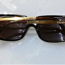 Cartier Sunglasses  Gold 130 Paris France Photo