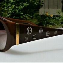 Cartier Sunglasses Happy Birthday Rare  Photo
