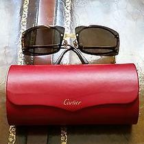Cartier Sunglasses With Original Case Photo