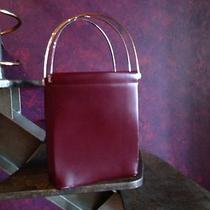 Cartier Trinity Purse Wine Color Photo