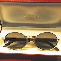 Cartier Vintage Giverny Wood Frame Glasses (1991) Photo