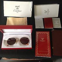 Cartier Vintage Sunglasses New in Box Photo