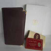 Cartier Wallet Authentic With Box  Photo
