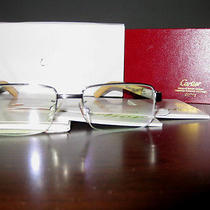 Cartier Wood Eyeglasses Photo