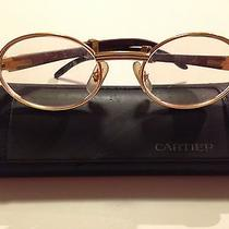 Cartier Wood Glasses Photo