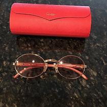 Cartier Wood Glasses Photo