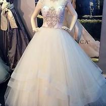 Casablanca Couture Ball Gown Wedding Dress - Size 8 - 1500 Blush and Rose Gold Photo