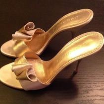 Casadei Rose Gold Heels  Photo