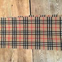 Cashmere Burberry Scarf Photo