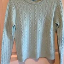 Cashmere Crewneck Cable Sweater - Magaschoni- Size Small Photo