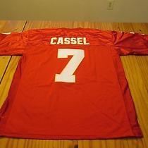 Cassel Kansas City Chiefs Short Sleeve Sewn Football Jersey Adult Size 48 Photo
