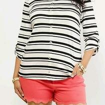 Casual Stripe Print Top Photo