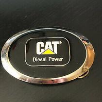 Cat Diesel Power Belt Buckle Logo Colorful Cat  Photo