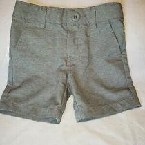 Cat & Jack Baby Boys 12m Gray Shorts Toddler Summertime Beach Bum Pockets Photo