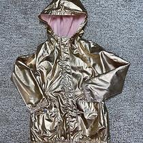 Cat & Jack Rose Gold Full Zip Up Hooded Jacket Girls Xs/4-5. So Adorable Photo