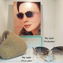 Caviar Sunglasses Glasses M6854 Rose Gold C.55 61-15-136 Austrian Crystal Photo