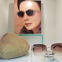 Caviar Sunglasses Glasses M6855 Rose Gold C.21 58-16-135 Austrian Crystal Trt Photo