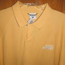 Cbs Sports Tv Crew Cast Columbia Stitched Golf Polo Shirt Xxl Nike Rare Photo