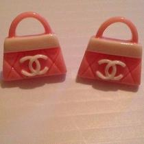 Cc Chanel  Handbag Earrings Photo