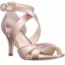 Cc35 Pollyan Criss Cross Ankle Strap Sandals Blush 10 Us Blush Size 10.0 Photo