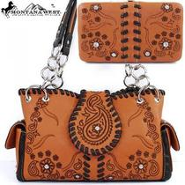 Ccw Concealed Carry Purse Montana West Gun Weapon Western Bling Handbag & Wallet Photo