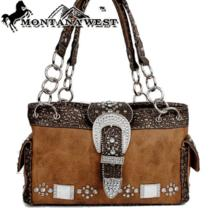 Ccw Concealed Carry Purse Montana West  Pistol Gun Weapon Western Bling Handbag  Photo