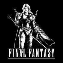 Cecil Harvey T-Shirt  Final Fantasy Playstation Video Game Shirt  Photo