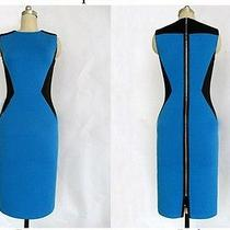 Celebirty Zippered Iconic Fancy Bebe Modernist Passion Dress More Sizes Photo