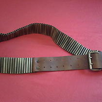 Celine Authentic  Leather Belt  Photo
