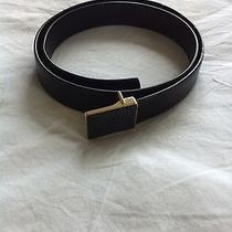 Celine Black Sting Ray Black Belt Photo
