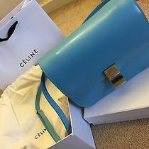 Celine Box Sky Blue 2015 Photo