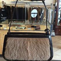 Celine Brown Lamb Fur Bag Photo