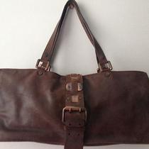 Celine Brown Leather Bag Handbag Purse Exquisite Photo