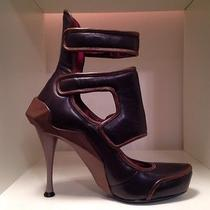 Celine Brown on Brown Leather Bootie  Photo