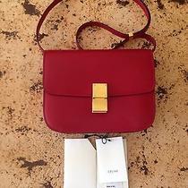 Celine Calfskin Box Flap Bag  Photo