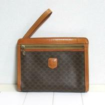 Celine  Celine Celine Numa Kadam Clutch Bag Pvc Genuine Leather M09 no.19637 Photo
