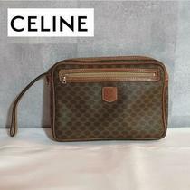 Celine  Celine Old Celine Clutch Bag Macadam Pattern no.19455 Photo