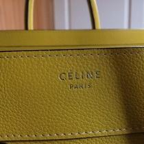 Celine Citron Mini Luggage in Drummed Calfskin Leather Photo