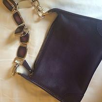 Celine Clutch Purse Purple Jewelry Chain Photo