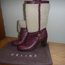 Celine Designer Boots Photo