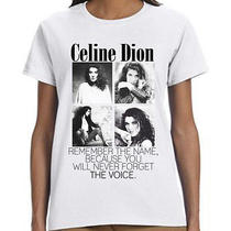 Celine Dion Remember the Name T-Shirt Photo