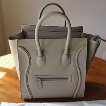 Celine Dune Mini Luggage Drummed Leather Nwt 2013 Photo