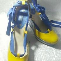 Celine Gladiator Strap Wedge Shoes  Photo