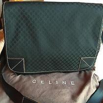 Celine Jacquard Messenger-Laptop Bag Photo