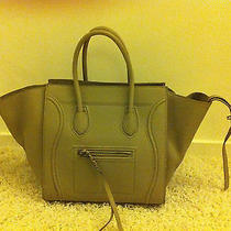 Celine Medium Phantom Luggage Handbag Tote Luxury Photo