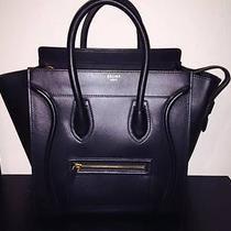 Celine Mini Luggage Black Photo